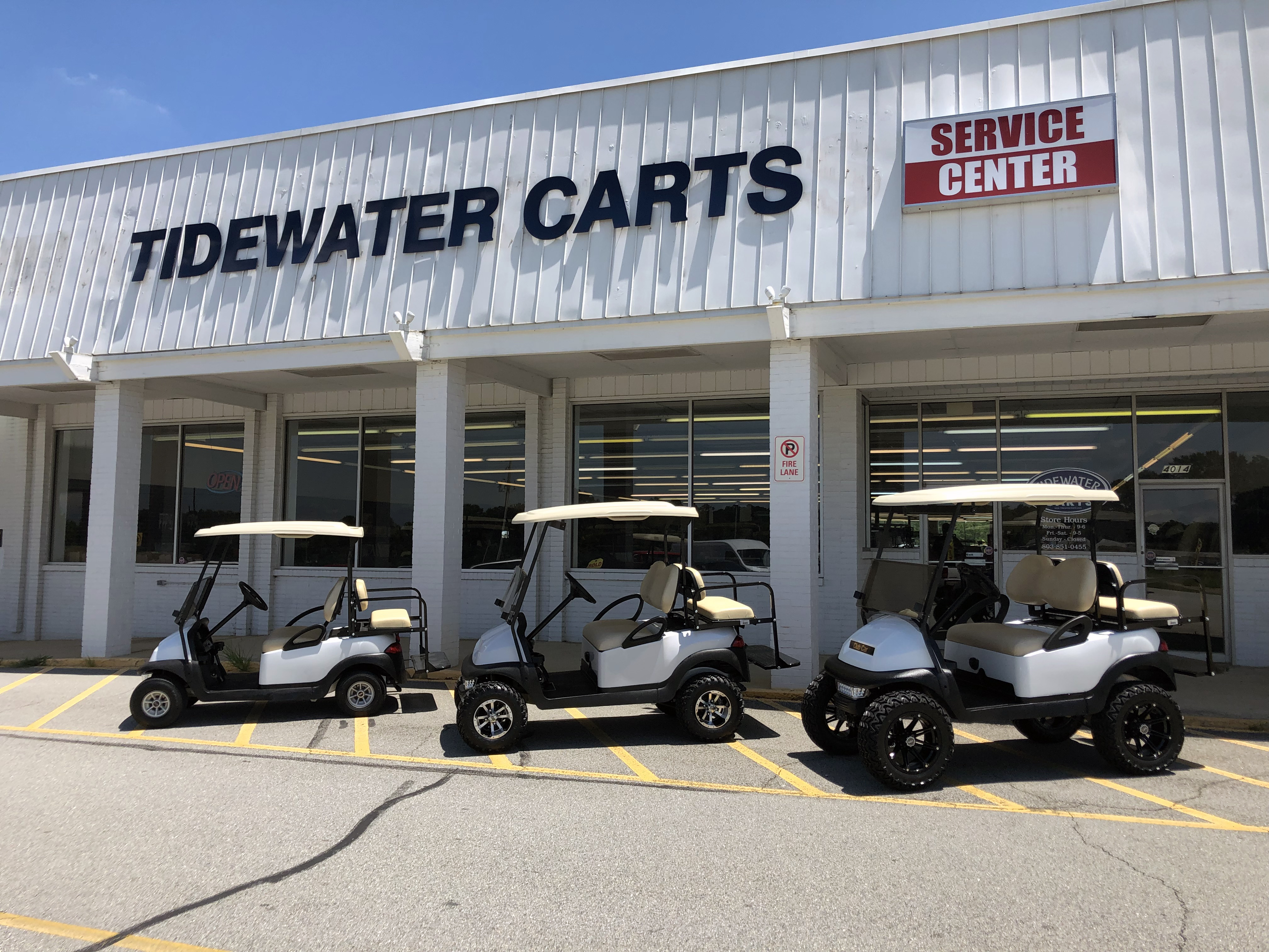 Golf Cart Sales In SC NC GA FL Tidewater Carts Superstore Wholesale Golf Car Prices