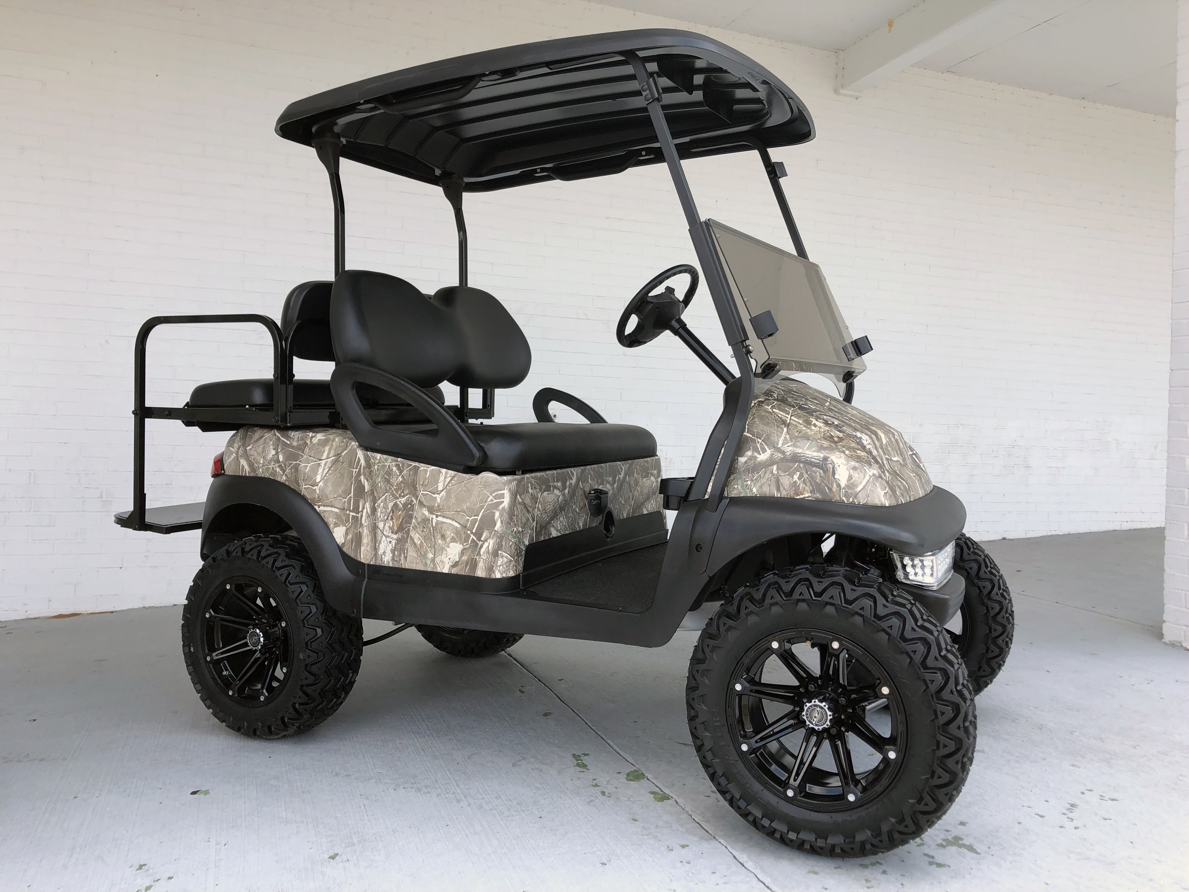 HUNTING OFFROAD GOLF CART CAMO BODY LIFTED CLUB CAR PRECEDENT