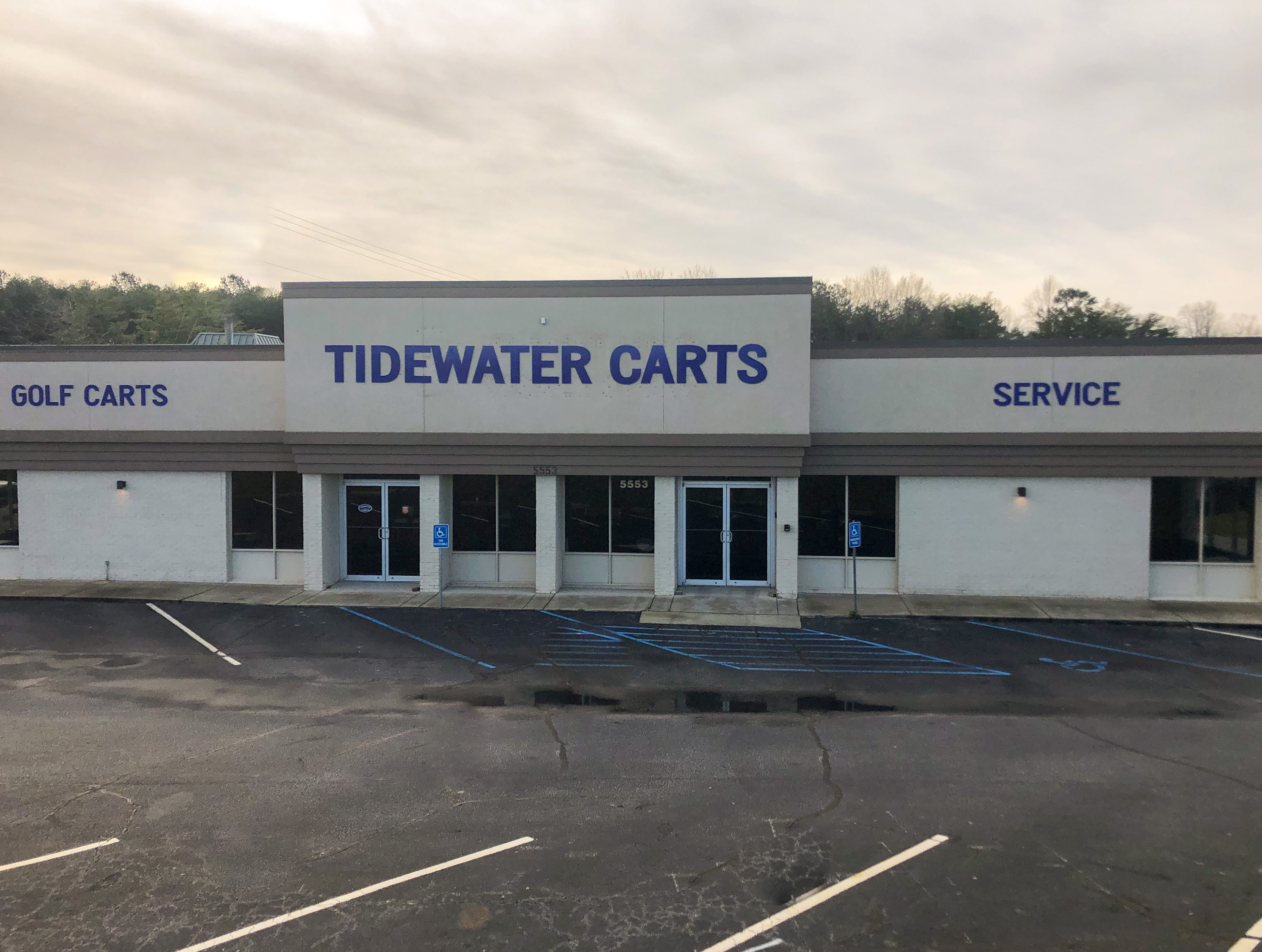 Tidewater Carts Superstore Easley SC Store Front
