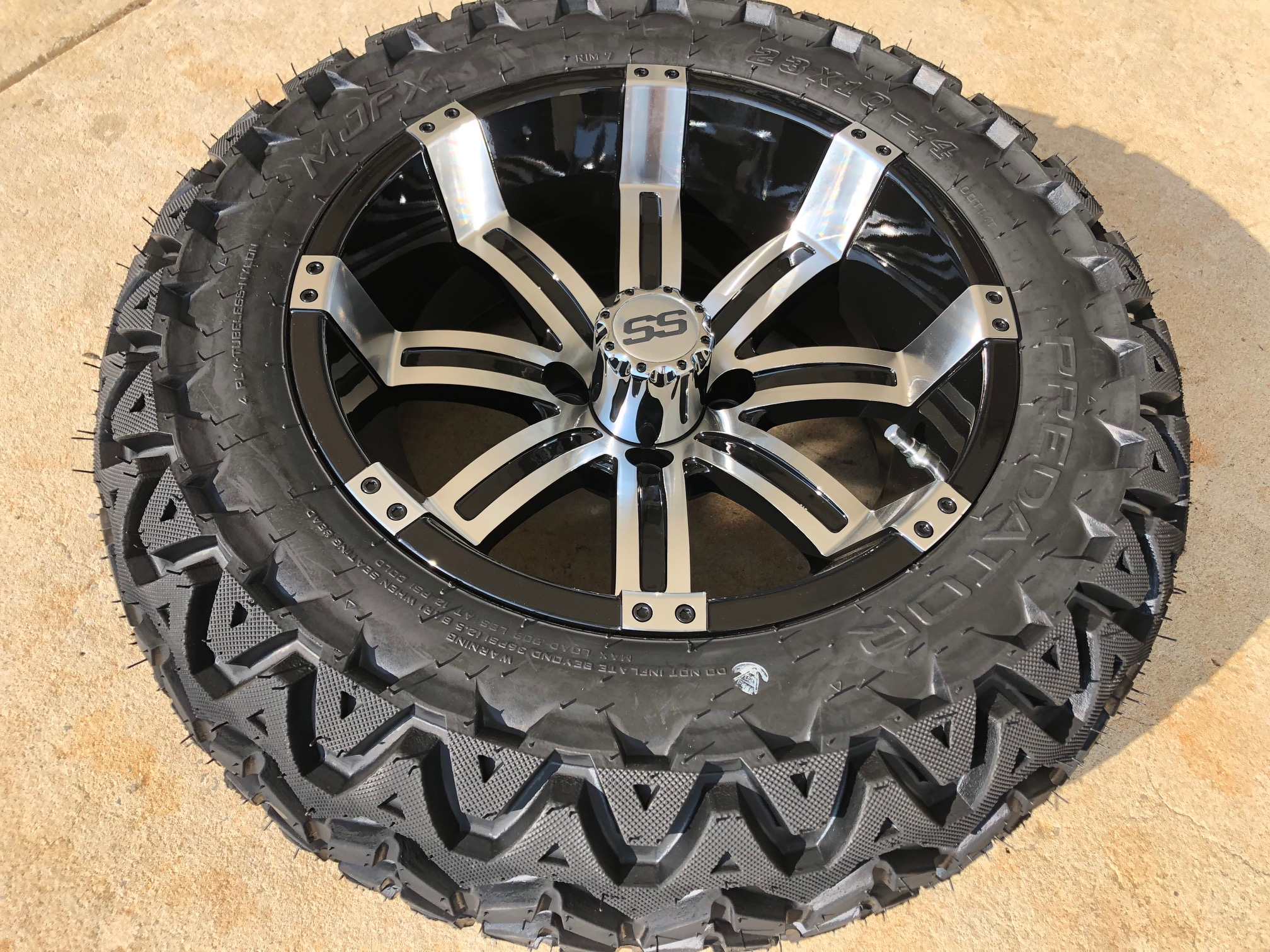 14 Inch Tires >> 14 Inch Tempest With 23x10x14 All Terrain Tire