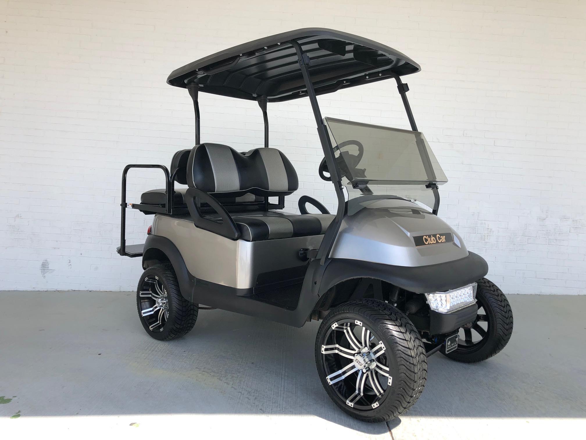 Silver 3 5 Inch Lifted Club Car Precedent Golf Cart Shop All Golf