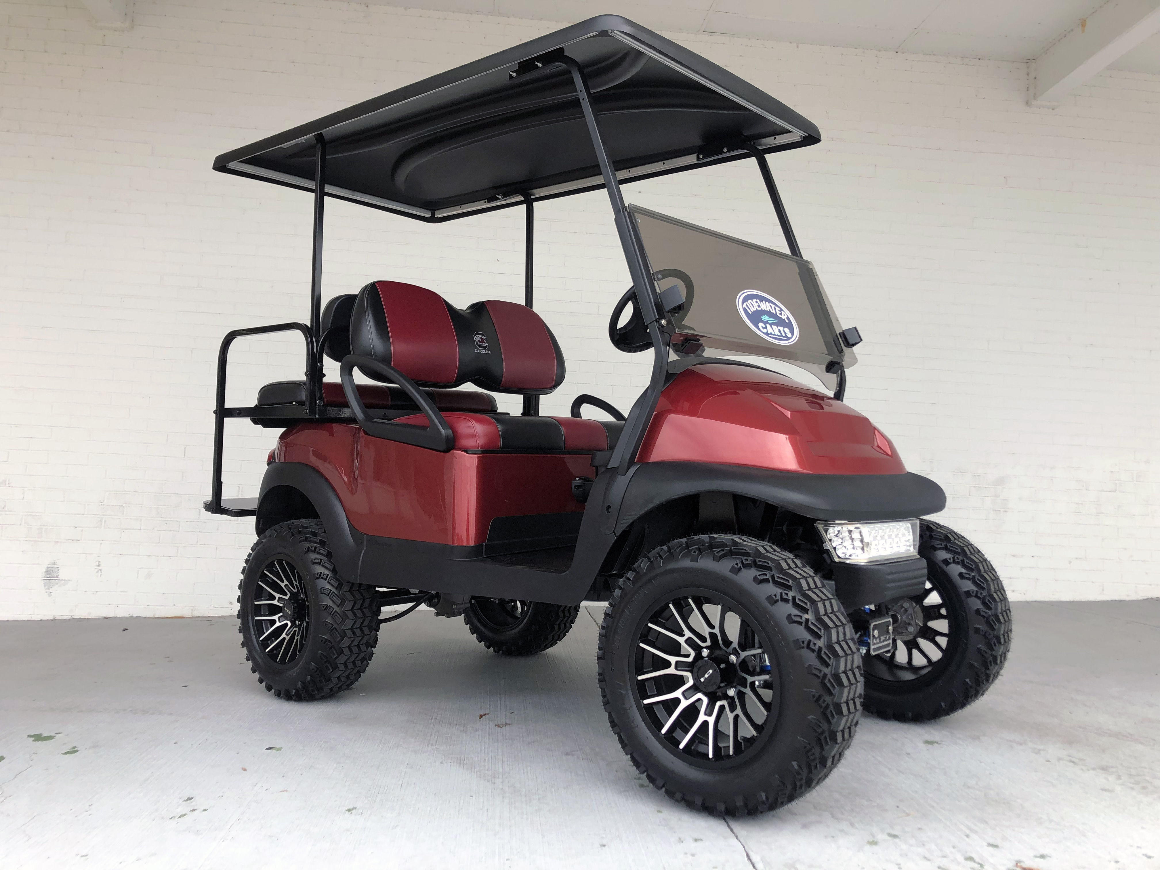 SC Gamecocks Lifted Club Car Golf Cart