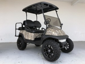 HUNTING OFFROAD GOLF CART CAMO BODY LIFTED CLUB CAR PRECEDENT SC NC GA FL AL VA MD WV PA MD 01